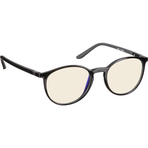 HornetTek GL-B081-K Gaming Glasses with Blue Light Blocking Protection (Black)