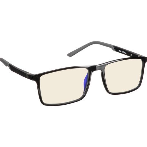HornetTek HT-GL-B084-K/G Gaming Glasses (Black & Gray)