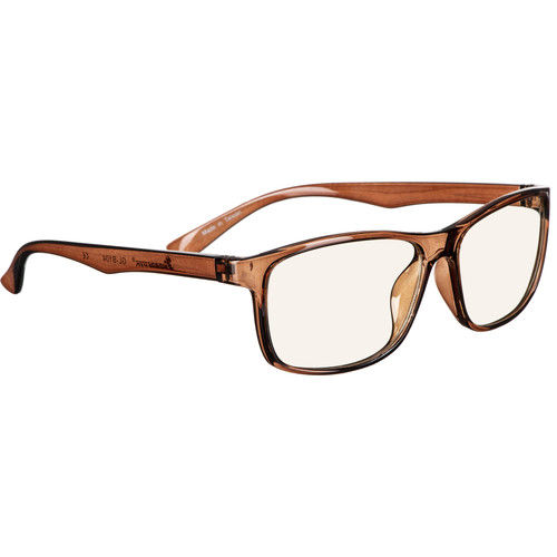 HornetTek HT-GL-B104-BR Blue-Light Blocking Glasses (Brown)