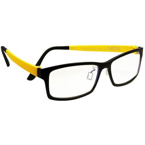 HornetTek HT-GL-B107-Y Blue-Light Blocking Glasses (Black and Yellow)