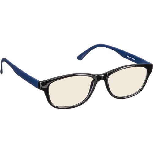 HornetTek HT-GL-B280-B/L Gaming Glasses (Black & Blue)