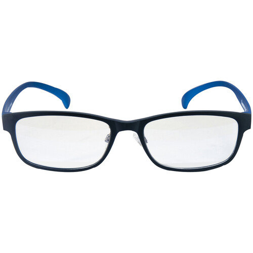 HornetTek HT-GL-B7108BKBU Gaming Glasses with Blue Light Protection (Black & Blue)
