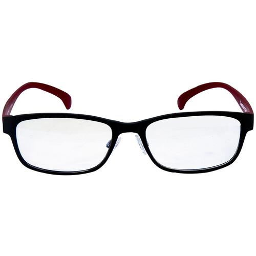 HornetTek HT-GL-B7108BKRD Gaming Glasses with Blue Light Protection (Black & Red)