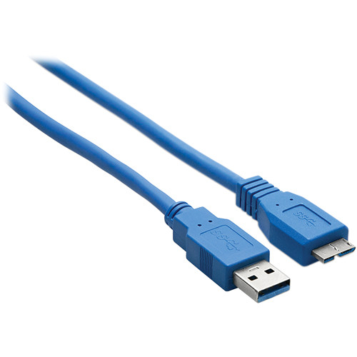 Hosa Technology SuperSpeed USB 3.1 Gen 1 Type-A to Micro-B Cable (6')