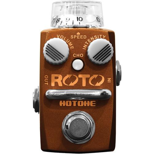 hotone roto rotary speaker simulator pedal tpsroto b h photo. Black Bedroom Furniture Sets. Home Design Ideas