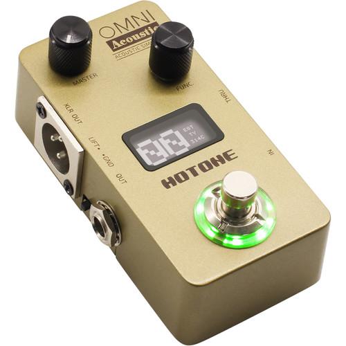 Hotone Omni AC Acoustic Simulator Pedal for Electric Guitar