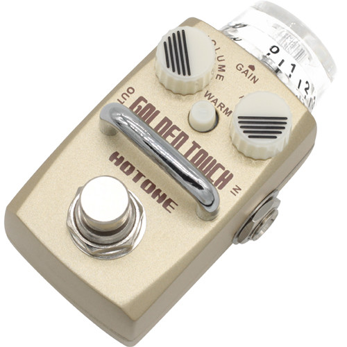 Hotone Skyline Series Golden Touch Overdrive Pedal for Guitar