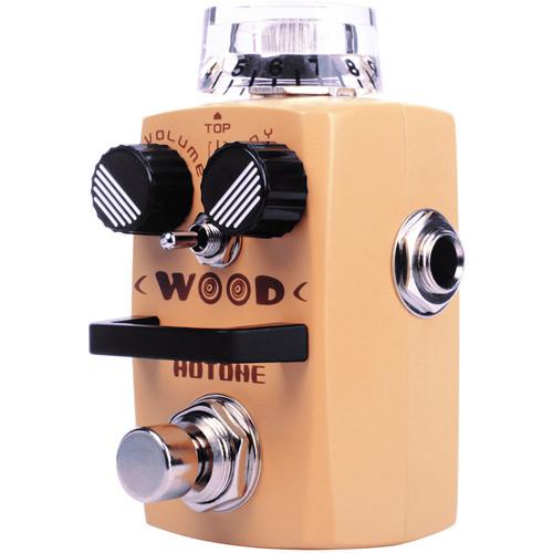 Hotone Wood Acoustic Guitar Simulator Pedal