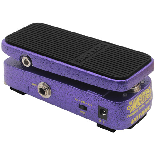 Hotone Vow Press Switchable Volume / Wah Pedal for Guitar