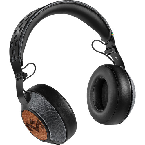 House of Marley Liberate XL On-Ear Headphones (Midnight)