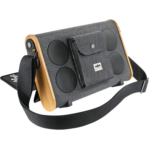 House of Marley Roots Rock Bluetooth Portable Audio System (Midnight)
