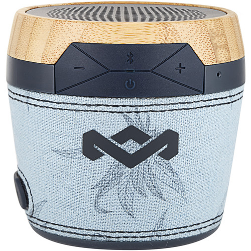 House of Marley Chant Mini Portable Bluetooth Wireless Speaker (Blue)