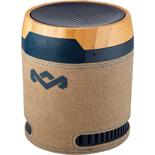 House of Marley Chant BT Portable Bluetooth Wireless Speaker (Navy)