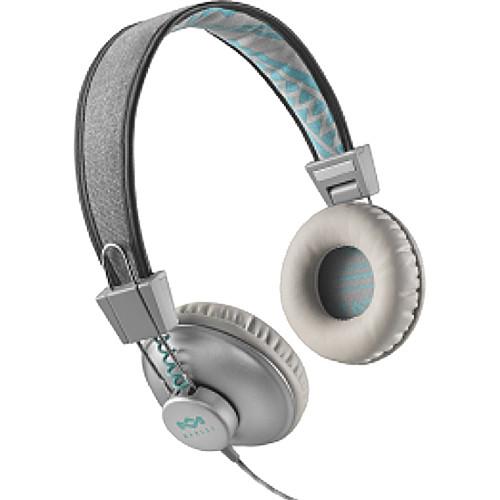 House of Marley Positive Vibration On-Ear Headphones (Mist)
