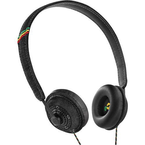 House of Marley Harambe On-Ear Headphones (Midnight)