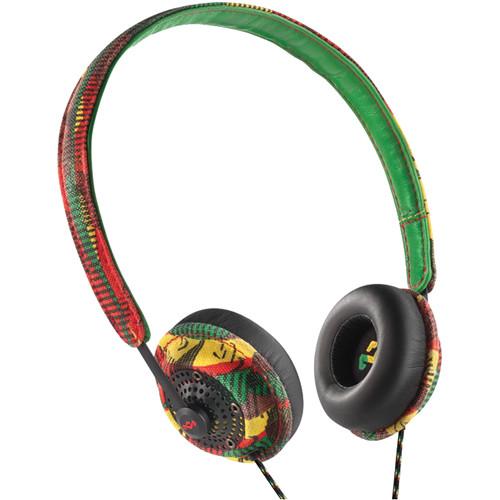House of Marley Harambe On-Ear Headphones (Rasta)