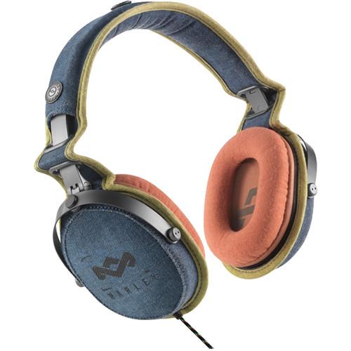 House of Marley Rise Up Over-Ear Headphones (Denim)