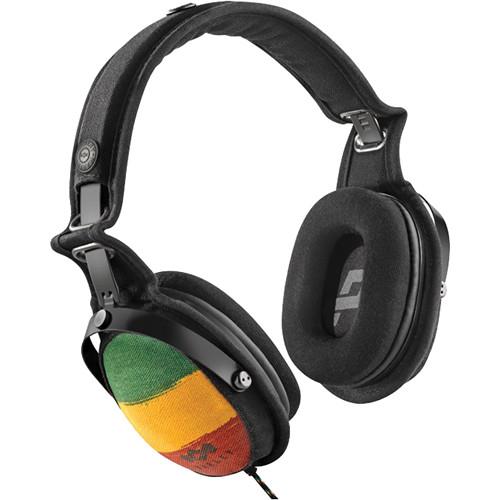 House of Marley Rise Up Over-Ear Headphones (Rasta)
