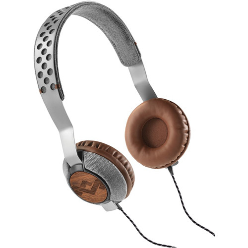 House of Marley Liberate On-Ear Headphones (Saddle)