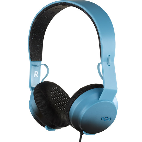 House of Marley EM-JH081 Rebel On-Ear Headphones (Teal)