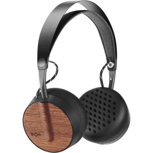 House of Marley EM-JH091 Buffalo Soldier BT Bluetooth On-Ear Wireless Headphones (Black)