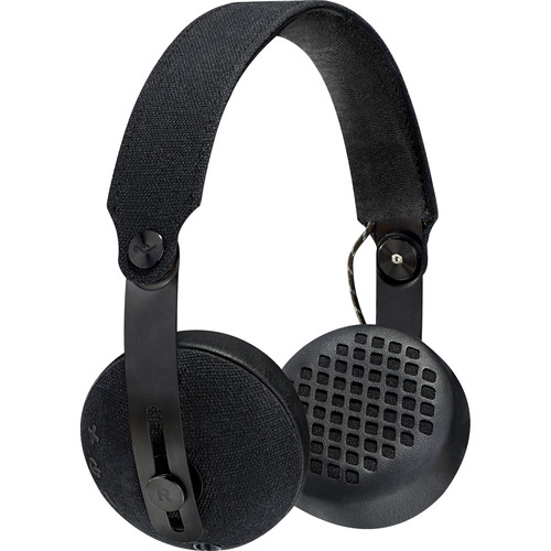 House of Marley Rise BT Wireless On-Ear Headphones (Black)