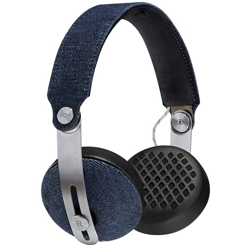 House of Marley Rise BT Wireless On-Ear Headphones (Denim)