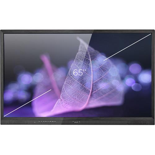 "HoverCam CenterStage 10 Series 65"" 4K Interactive Anti-Glare Flat Panel Display"