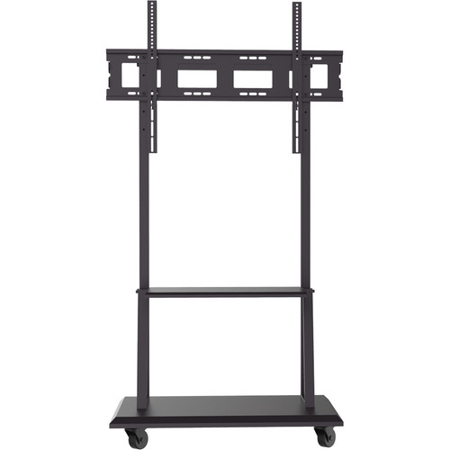 """HoverCam HCS-PT90 Fixed Height Stand On Wheels Used for 65"""" - 75"""" panel sizes"""