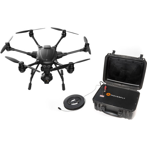 Hoverfly Yuneec Typhoon H With Realsense And Hoverfly Power Tether                               ,
