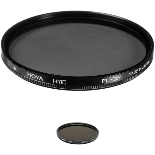 Hoya 52mm Neutral Density 2.7 and Circular Polarizer Multicoated Filter Kit