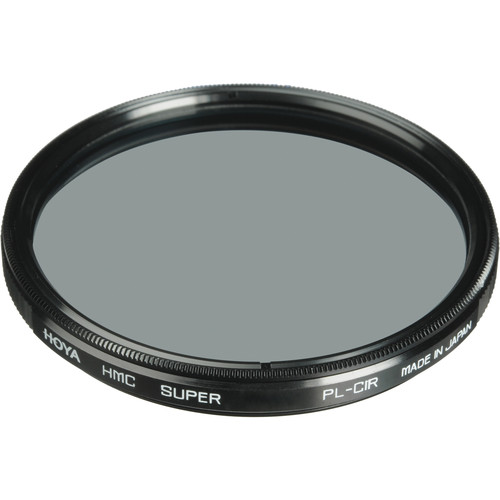 Hoya 55mm UV and Circular Polarizer Multicoated Filter Kit