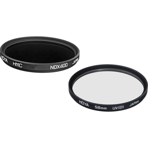 Hoya 58mm Multi-coated Neutral Density 2.7 and UV Filter Kit