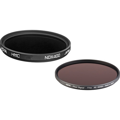 Hoya 77mm Neutral Density 1.8 and 2.7 Multicoated Filter Kit