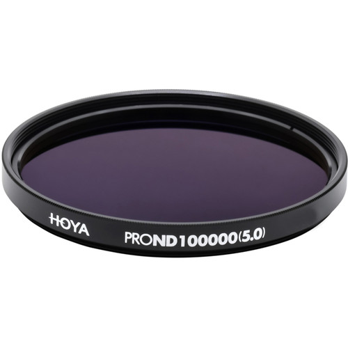 Hoya 77mm ProND-100000 Neutral Density 5.0 Solar Filter (16.6 Stops)