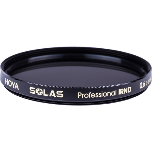 Hoya 55mm Solas IRND 0.6 Filter (2 Stop)