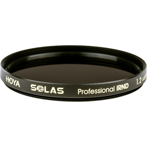 Hoya 62mm Solas IRND 1.2 Filter (4-Stop)
