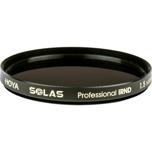 Hoya 62mm Solas IRND 1.5 Filter (5 Stop)