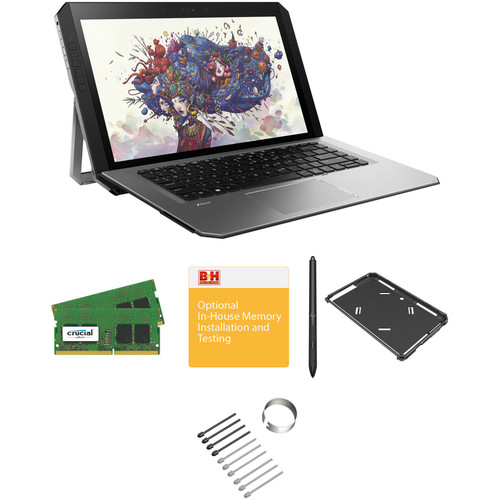 """HP 14"""" ZBook x2 G4 Multi-Touch 2-in-1 B&H Custom Mobile Workstation"""