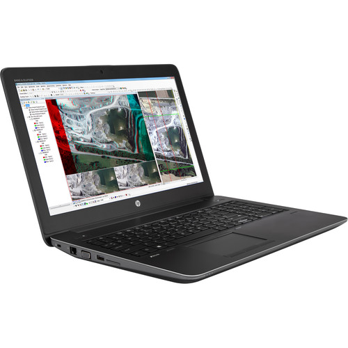 """HP 15.6"""" ZBook 15 G3 Turnkey Mobile Workstation with 64GB RAM, 512GB M.2 SSD, and 1TB SATA SSD"""