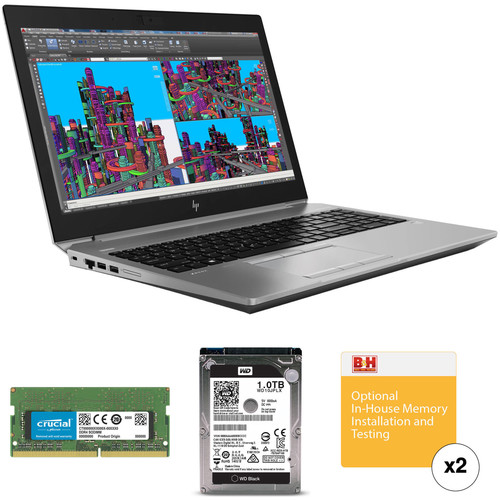 "HP 15.6"" ZBook 15 G5 B&H Custom Mobile Workstation"