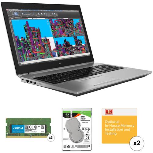 "HP 15.6"" ZBook 15 G5 B&H Custom Mobile Workstation"