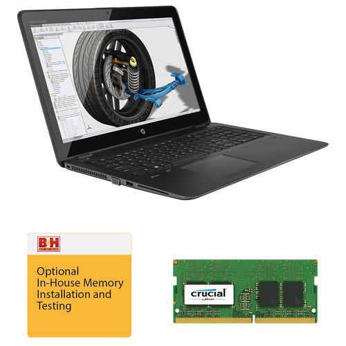 "HP 15.6"" ZBook 15u G3 Mobile Workstation Kit with 16GB RAM"