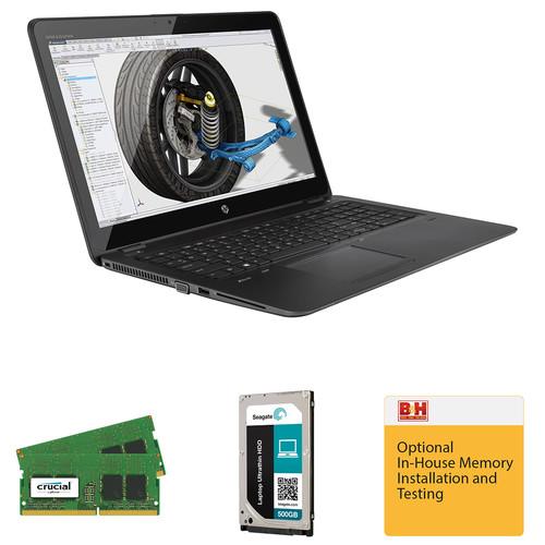 "HP 15.6"" ZBook 15u G3 B&H Custom Mobile Workstation"