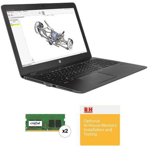 "HP 15.6"" ZBook 15u G4 Multi-Touch B&H Custom Mobile Workstation"