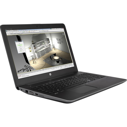 "HP 15.6"" ZBook 15 G4 B&H Custom Mobile Workstation"