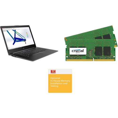 "HP 15.6"" ZBook Studio G4 B&H Custom Mobile Workstation"