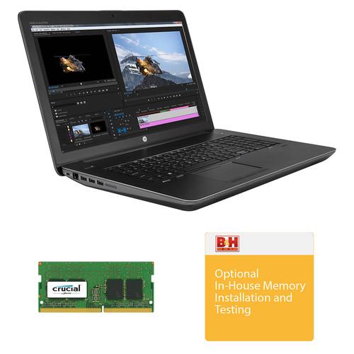 "HP 17.3"" ZBook 17 G4 B&H Custom Mobile Workstation"