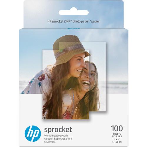 HP Sprocket Photo Paper (100 Sheets)