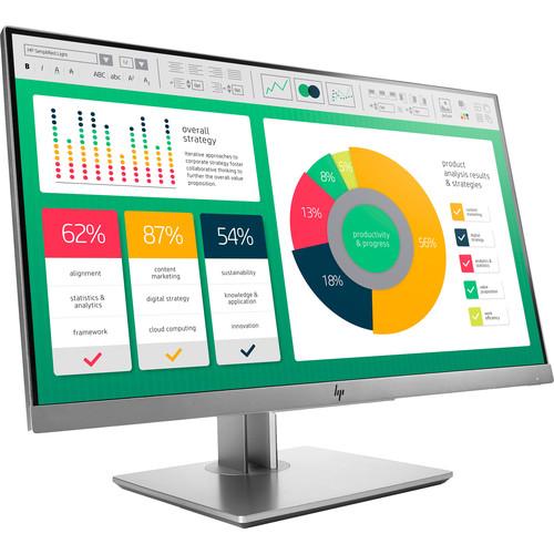 "HP EliteDisplay E223 21.5"" Full HD Monitor (Silver)"